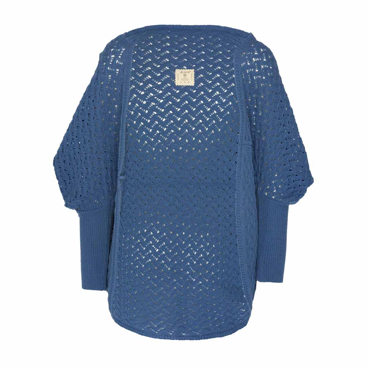Cardigan Dehesa Lana Merino Azul 0af32a7ec5d
