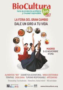 Cartel Biocultura Madrid dLana