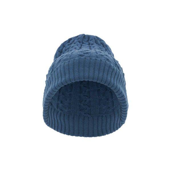Gorro Zagal Lana Merino Azul