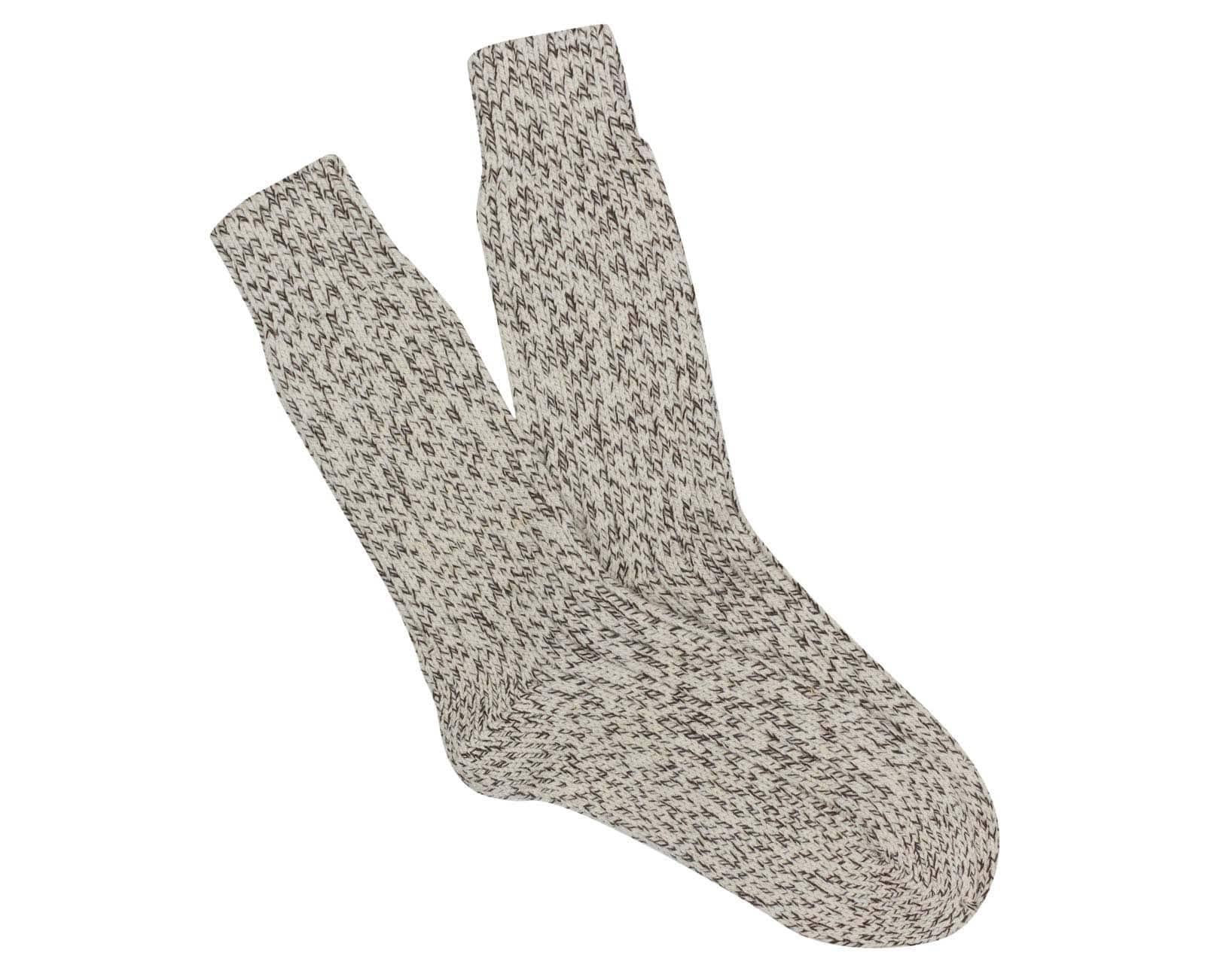 Los auténticos calcetines artesanos de lana merina para tus pies