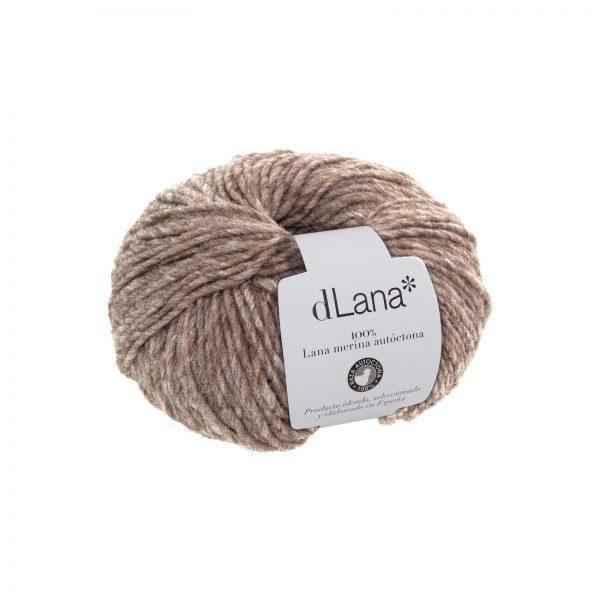 Ovillo lana merina autóctona certificada Gris